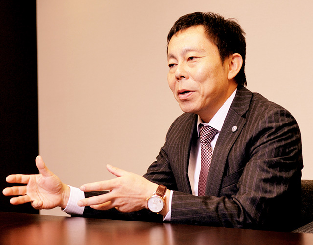 株式会社ボルテックス 代表取締役社長 宮沢 文彦